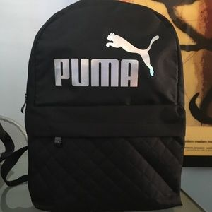 Puma back pack worn one time briefly